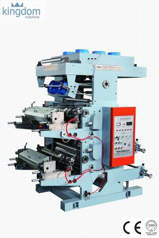 دستگاه چاپ فلکسو دو رنگ