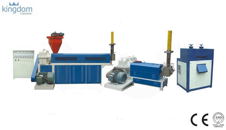 خط کامل بازیافت پلاستیک شامل دستگاه گرانول (اکسترودر) آسیاب (خردکن-کاتر) کندور